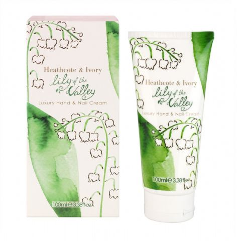 Lily Of The Valley Hand & Nail Cream 100ml Heathcote & Ivory